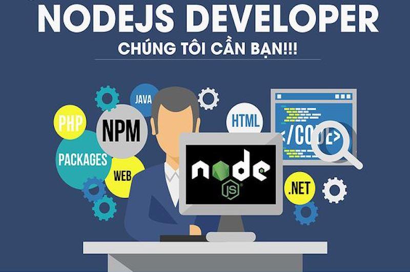 #99+ Việc Làm NodeJS Developer {Lương Cao} + {Thưởng Hấp Dẫn}