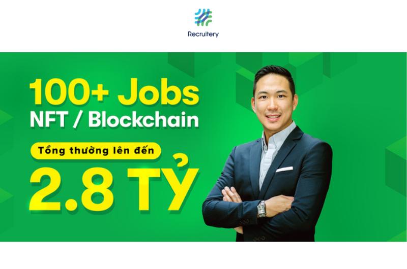 NFT là gì? Top 100 cơ hội việc làm về NFT và Blockchain với Recruitery