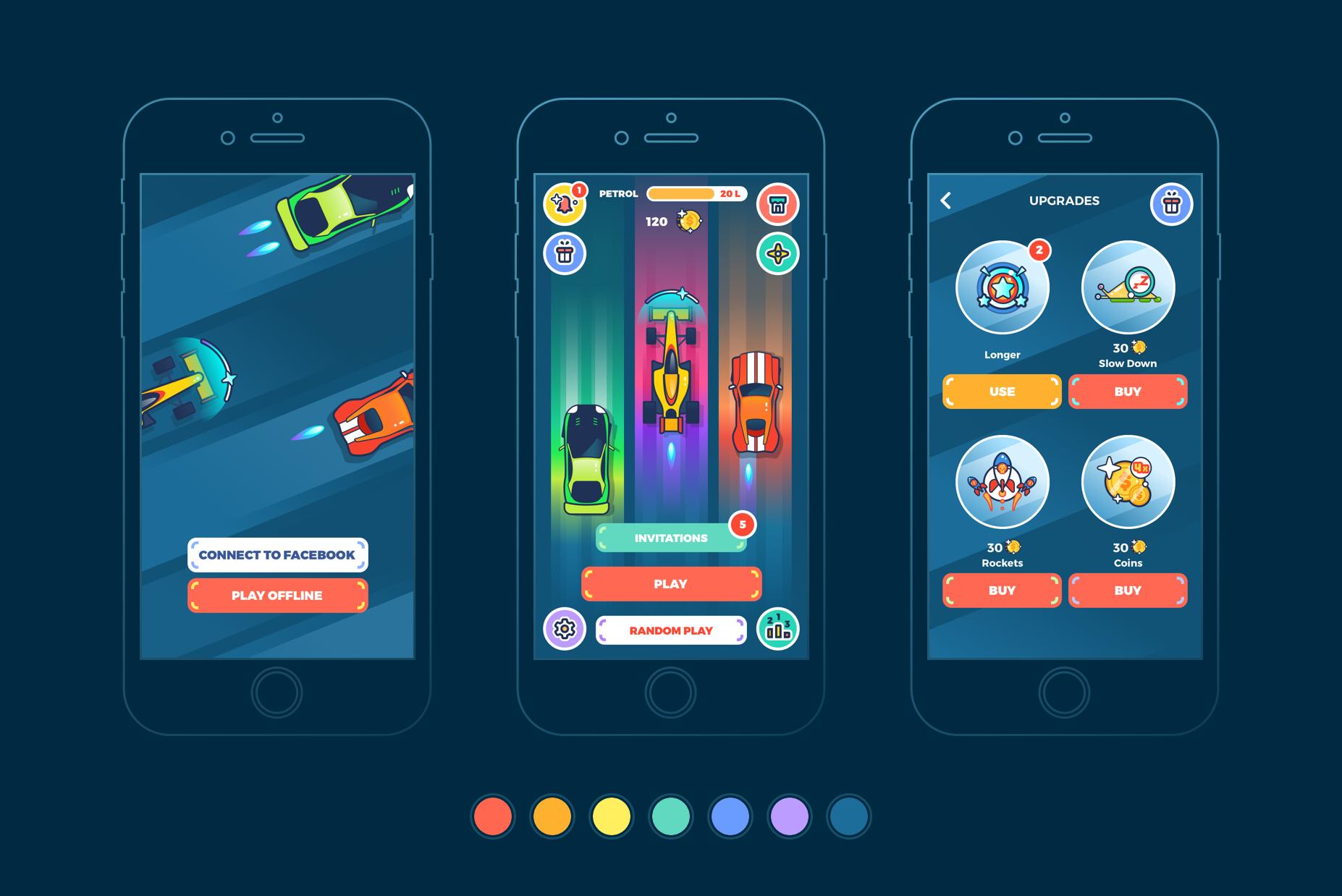 design for gamemobile - Recruitery