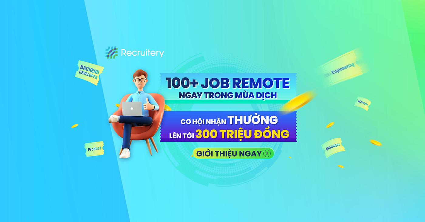 Việc làm remote 2021 - Recruitery