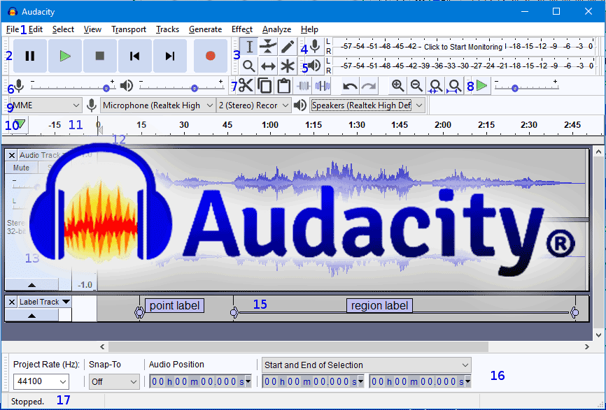 Audacity - Recruitery