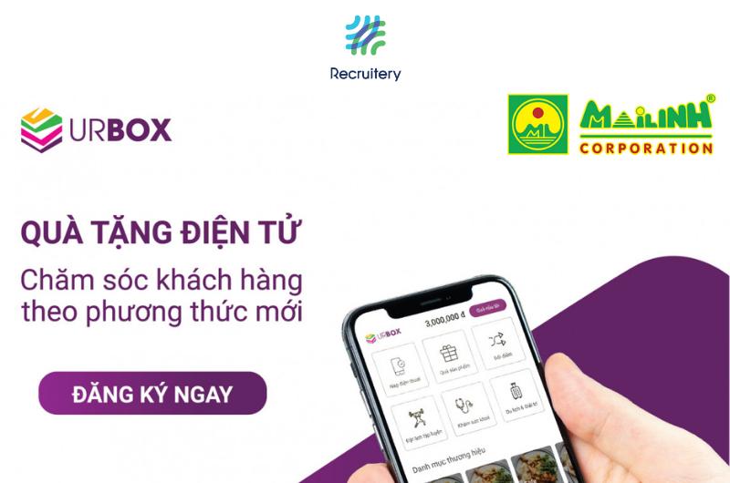 UrBox và Mai Linh ra mắt thẻ quà tặng đồng thương hiệu