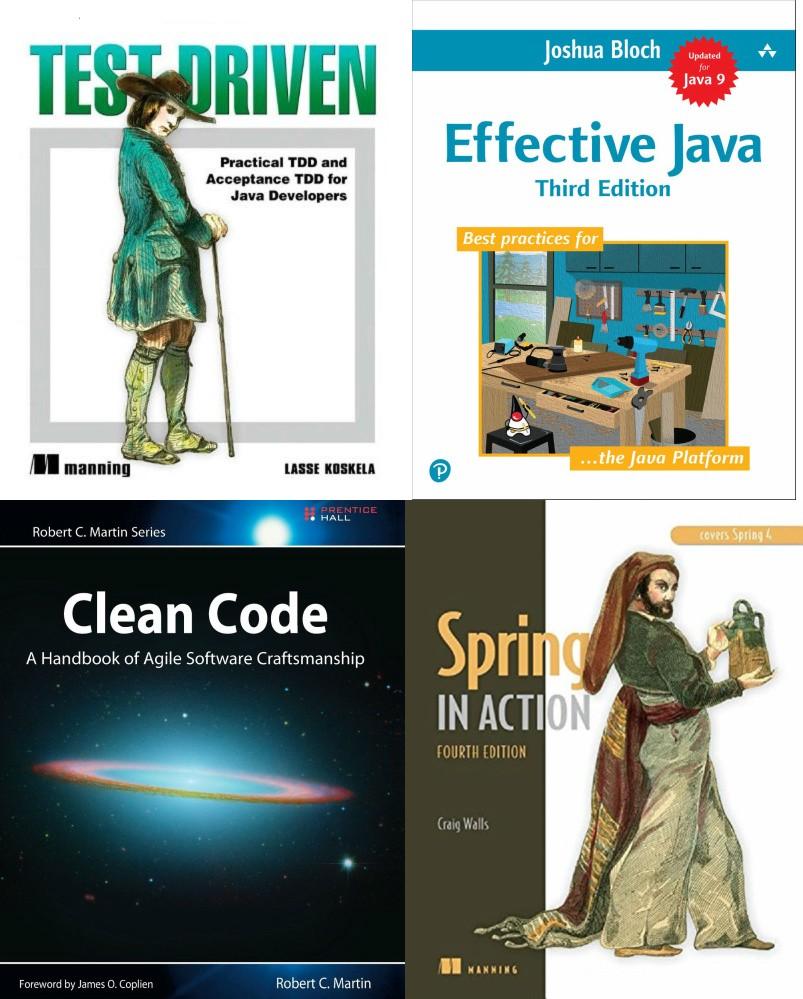 Recruitery - java books for developer